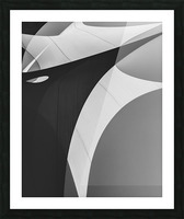 Abstract Sailcloth 4 Picture Frame print