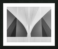 Abstract Sailcloth 1 Picture Frame print