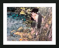 FAIRY AND THE LAKE  Art-Photo 1-4  Picture Frame print