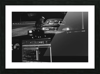 Late Night Traffic Stop 2 Picture Frame print
