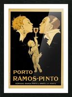 Porto Ramos - Pinto Original Poster Picture Frame print