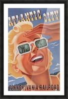 Atlantic City Pennsylvania Railroad Original Poster Picture Frame print