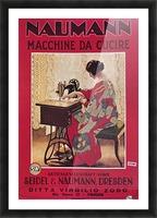Naumann Sewing Machine Picture Frame print
