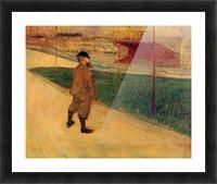 Tristan Bernard by Toulouse-Lautrec Picture Frame print