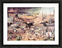 Triumph of Death by Pieter Bruegel Picture Frame print