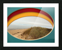 Absorbed-in-Ocean Picture Frame print