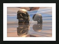 Sapiens Picture Frame print