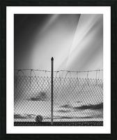 Soccer ball Picture Frame print