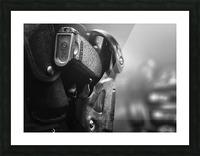 Police Backup Picture Frame print