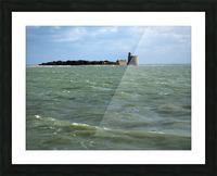 Vauban Tower on Tattihou island ile de Tattihou et sa tour Vauban Picture Frame print