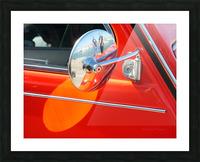 retro dedeuch Picture Frame print