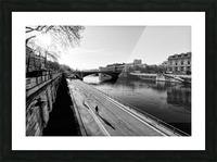 Alone in Paris Impression et Cadre photo
