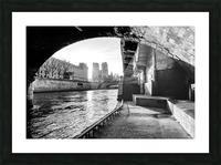 Under the bridge Impression et Cadre photo