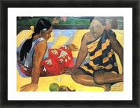 Two Women From Tahiti by Gauguin Picture Frame print