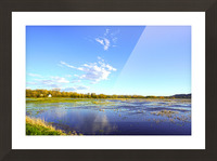 Beautiful Day at the Estuary Picture Frame print