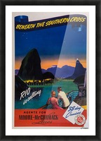 Rio is calling original poster Picture Frame print