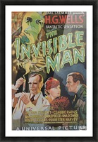 The Invisible Man Universal Picture Carl Laemmle vintage movie poster Impression et Cadre photo