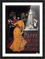 Caffe Espresso Servizio Istantaneo Picture Frame print