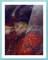 The Universe is Conscious  Picture Frame print