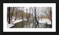 Lake Panorama Picture Frame print