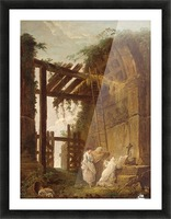 At the Hermits Picture Frame print
