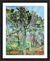 Viaduct by Cezanne Picture Frame print