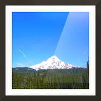 Mount Hood in Spring Picture Frame print