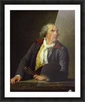 Portrait of Hubert Robert, 1788 Picture Frame print