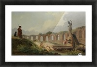 Aqueduct in Ruins Picture Frame print