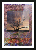 Tree Layers 5 Picture Frame print