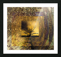 Tree Layers 7 Picture Frame print