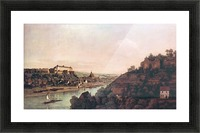 View of Pirna -1- by Canaletto Picture Frame print