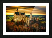 Fairytale Castle Picture Frame print