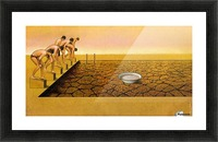 Pool Picture Frame print