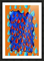 Greoforio V4 - abstract digital artwork Picture Frame print