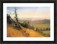 Wasatch Mountains Nebraska by Bierstadt Picture Frame print