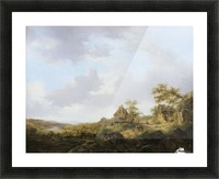 Ramblers On A Path Picture Frame print