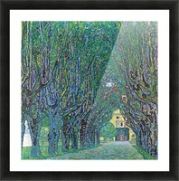 Way to the Park by Klimt Picture Frame print