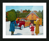 Buying The Tree Picture Frame print