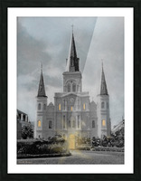 St Louis Cathedral - New Orleans Picture Frame print