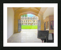 Snapshot in Time Presents a Visit to Oxford 4 of 8 Picture Frame print