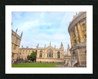Snapshot in Time Presents a Visit to Oxford 2 of 8 Picture Frame print