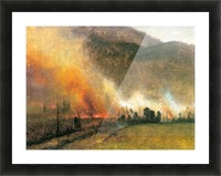 White Mountains, New hampshire 1 by Bierstadt Picture Frame print