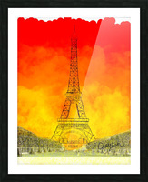 Eiffel Tower. Clayton T Picture Frame print