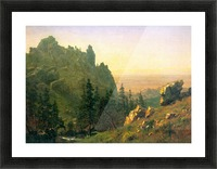 Wind River Country by Bierstadt Picture Frame print