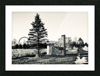 The Path Less Traveled Picture Frame print