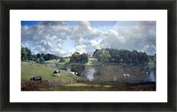 Wivenhoe Park by Constable Picture Frame print
