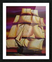 Calypso Picture Frame print