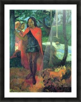 Wizard of Hiva-Oa by Gauguin Picture Frame print