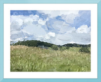 Clouds Over Parkton Picture Frame print